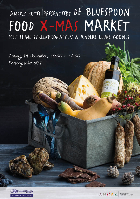 Bluespoon Food X-Mas Market - Flyer