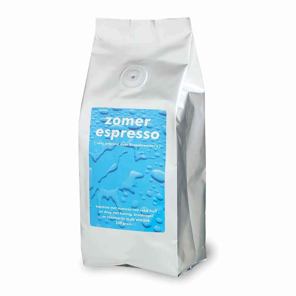 zomerse koffiemelange