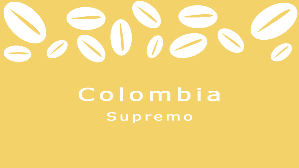 Koffiebonen Colombia