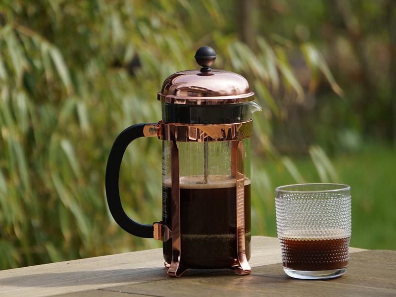 Cafetiere bereiden