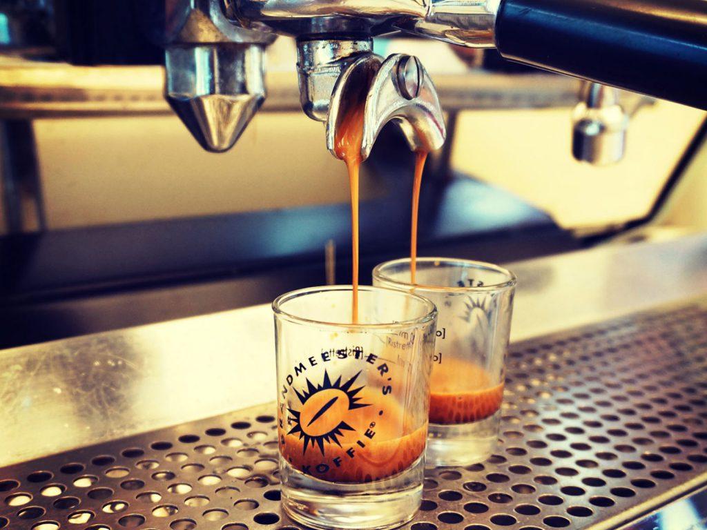 Espresso bereiden