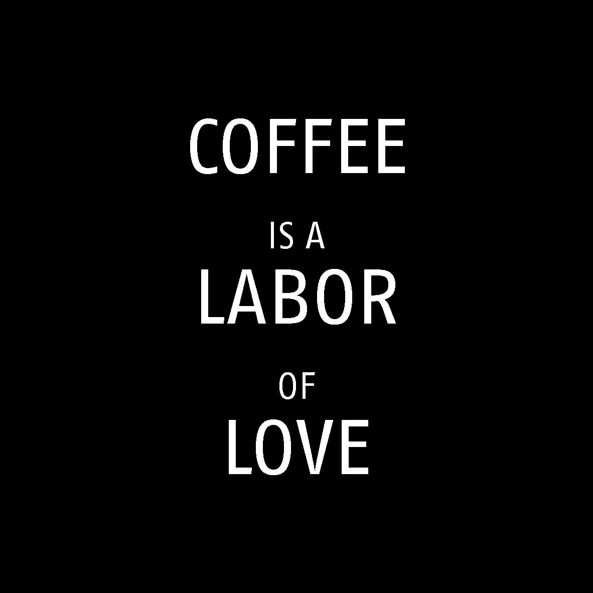 Werken in de koffie