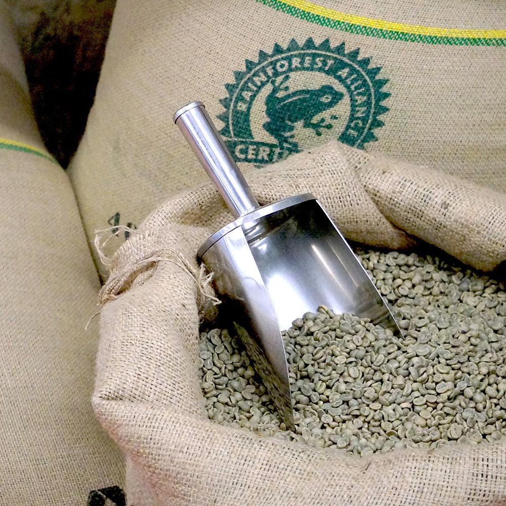Groene koffiebonen
