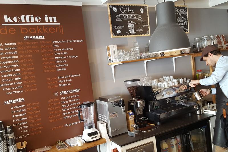 Koffie retailer
