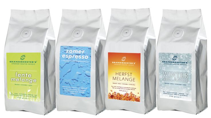 melanges seizoen koffie