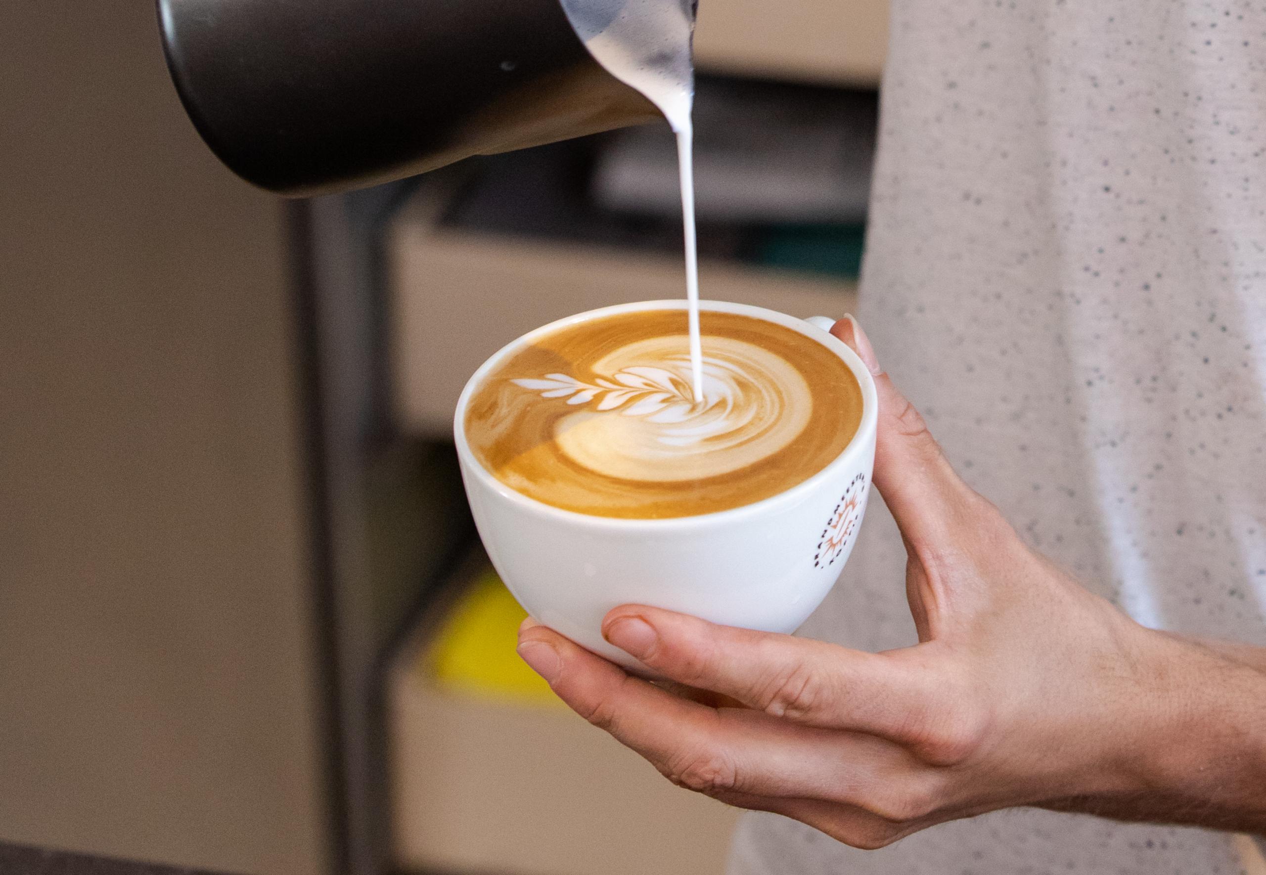 Brandmeesters koffie horeca latte art cappuccino koffie amsterdam haarlem