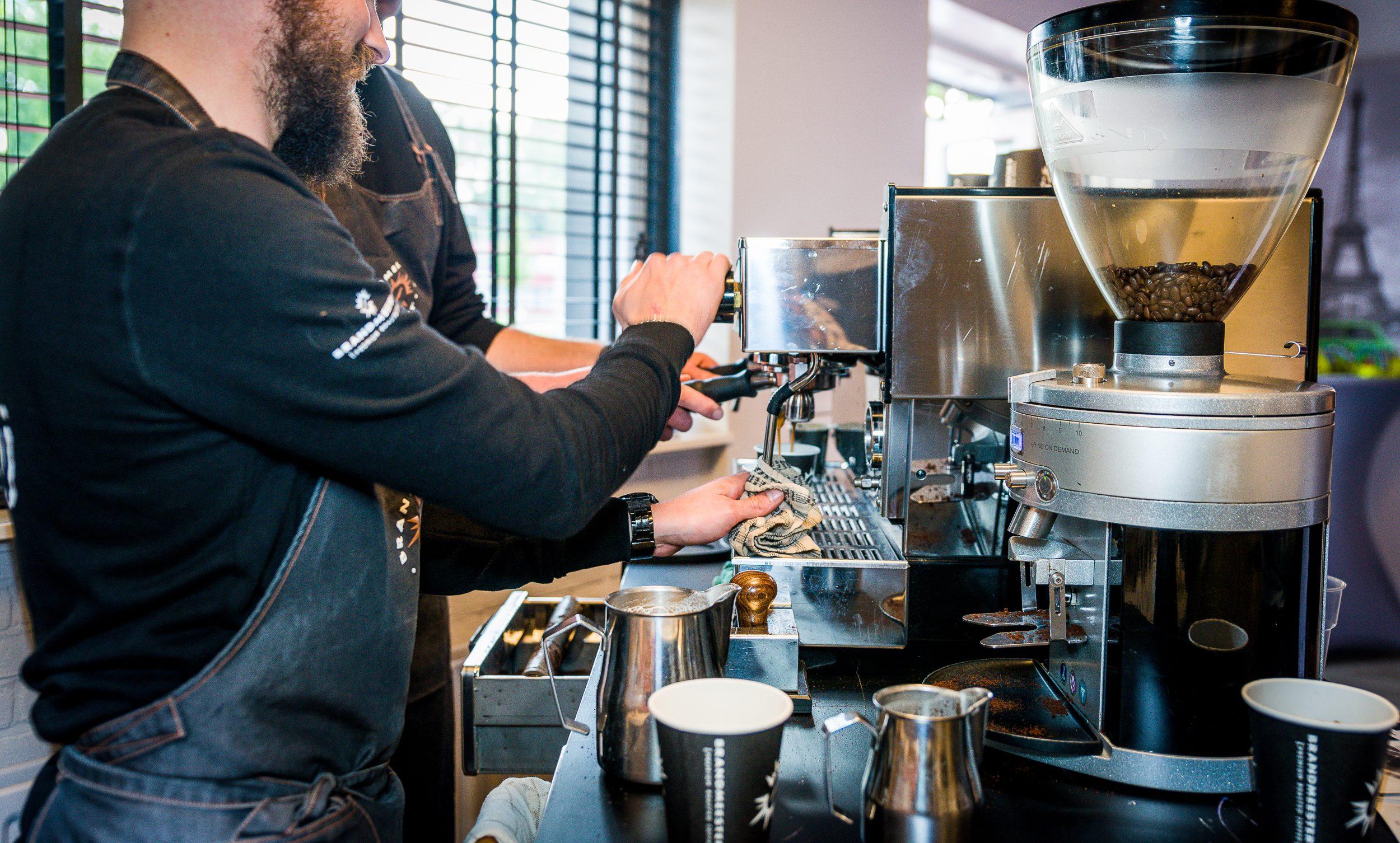 Brandmeesters zakelijk horeca restaurant koffie koffiebonen vers gebrand