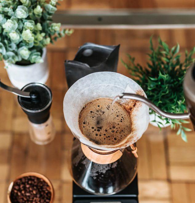 Brandmeesters chemex slowbrew koffie chemex filter koffie koffiebonen