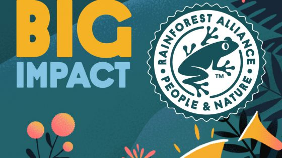 Duurzame koffie Rainforest Alliance