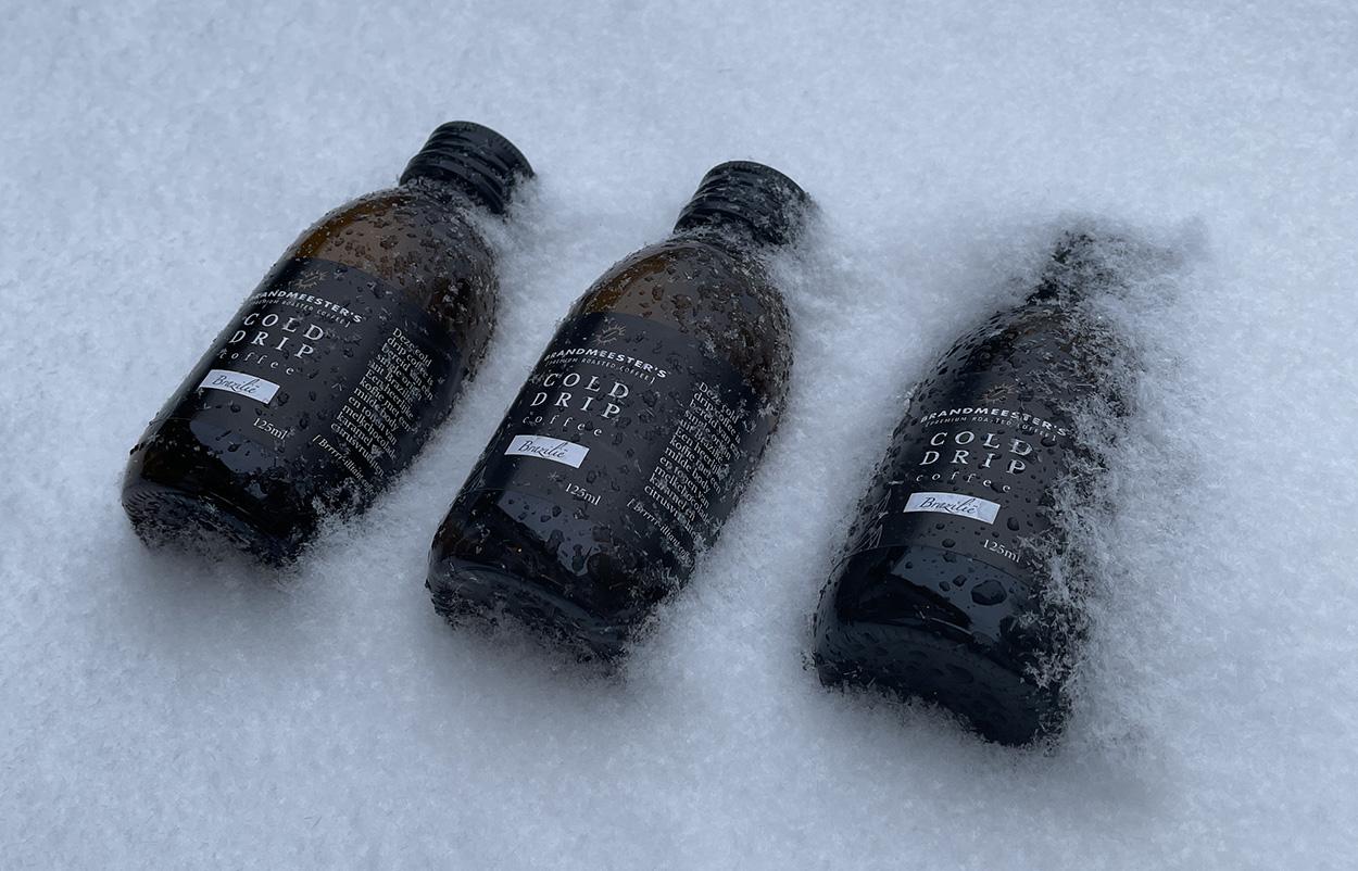 cold drip coffee sneeuw